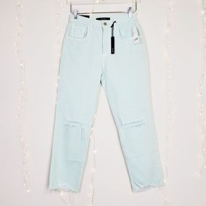 J Brand Wynne High Rise Cropped Straight Jeans 26